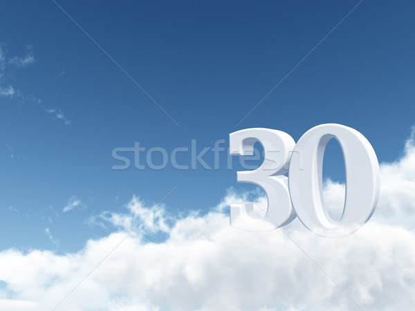 thirty Stock photo © drizzd