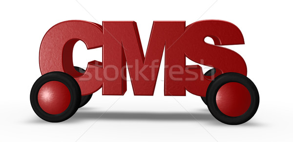 cms on the road Stock photo © drizzd