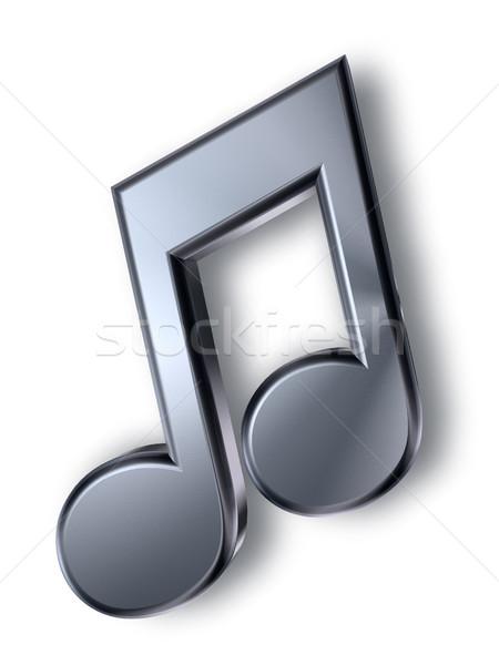 music note symbol Stock photo © drizzd