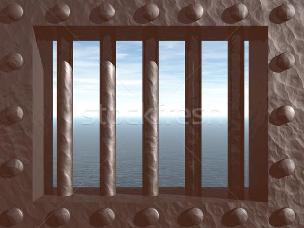 prison Stock photo © drizzd