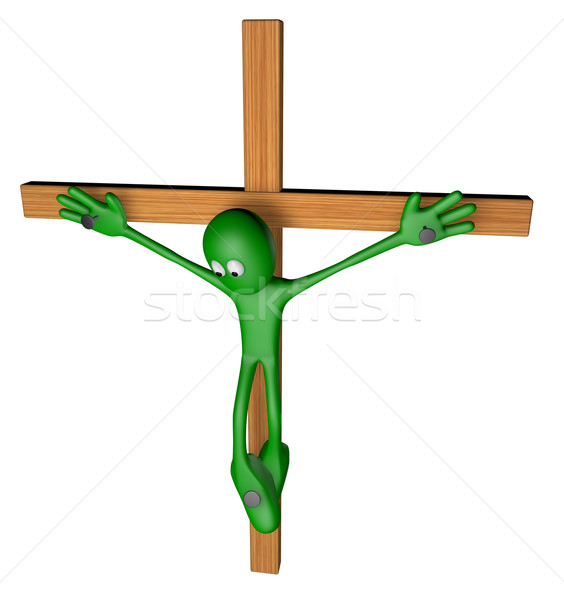 Stock photo: crucifixion