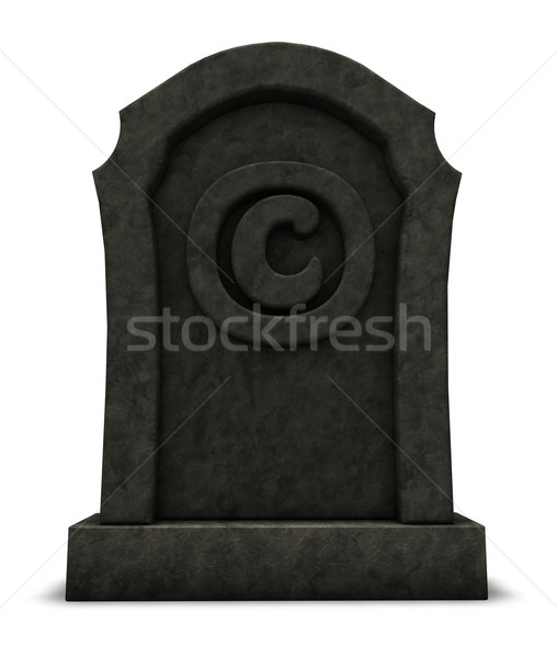 copyright is dead Stock photo © drizzd