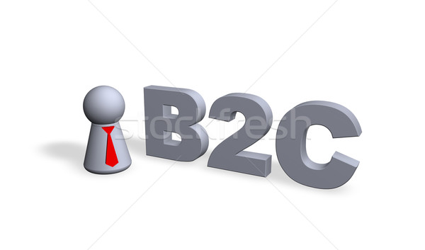 b2c Stock photo © drizzd