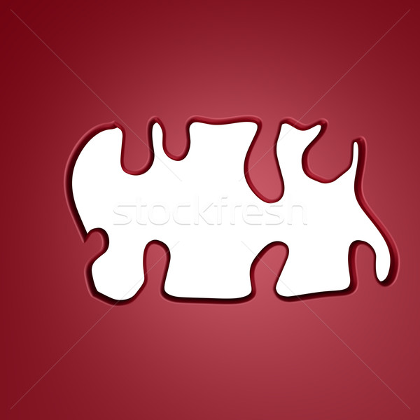 abstract hole Stock photo © drizzd