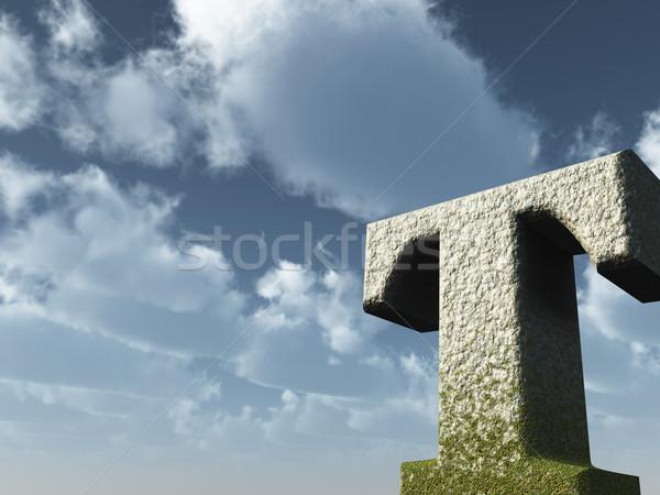 big t Stock photo © drizzd