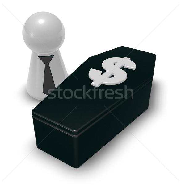 dollar casket Stock photo © drizzd