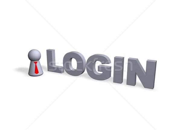 login Stock photo © drizzd