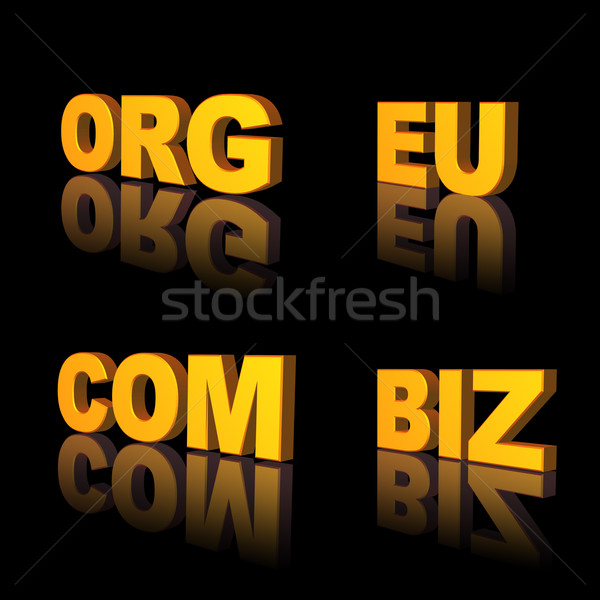 domains Stock photo © drizzd