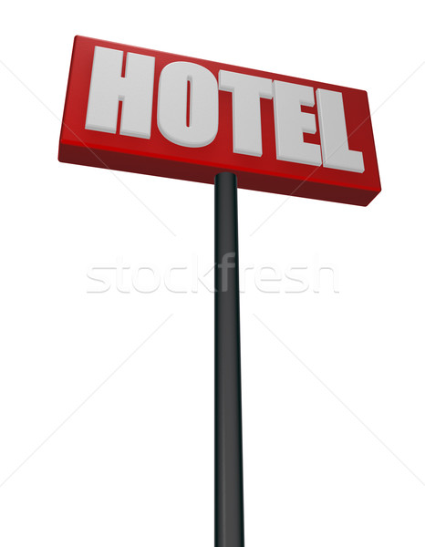 hotel Stock photo © drizzd