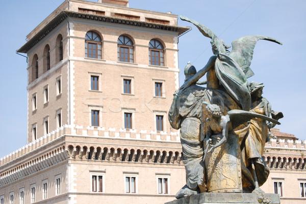 View of the Altare della Patria, Rome, Italy Stock photo © Dserra1