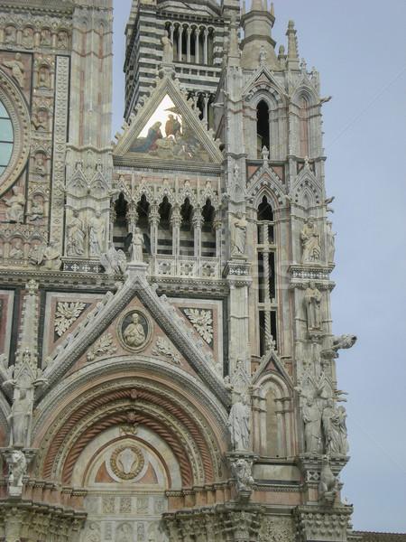 собора Италия Церкви мрамор Тоскана древних Сток-фото © Dserra1