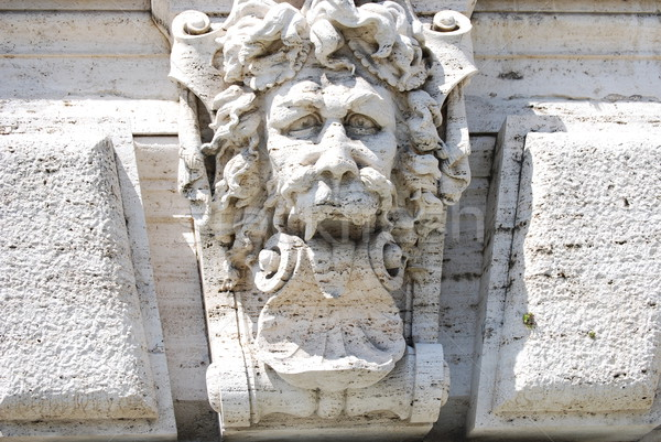 Palast Gerechtigkeit Rom Italien Gebäude Stadt Stock foto © Dserra1