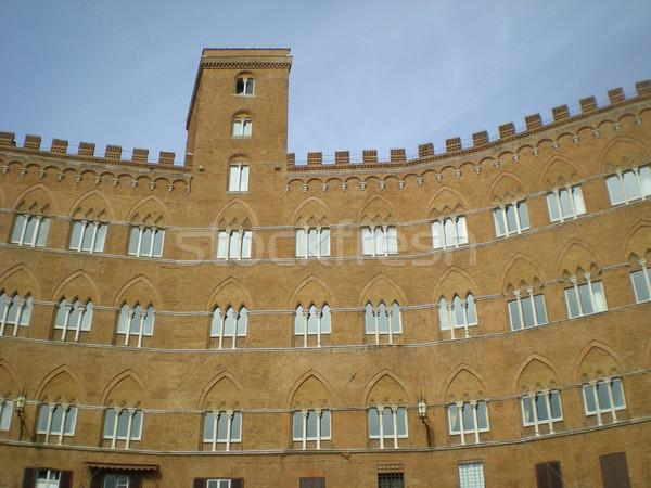 View of gothic city of Siena, Italy Stock photo © Dserra1