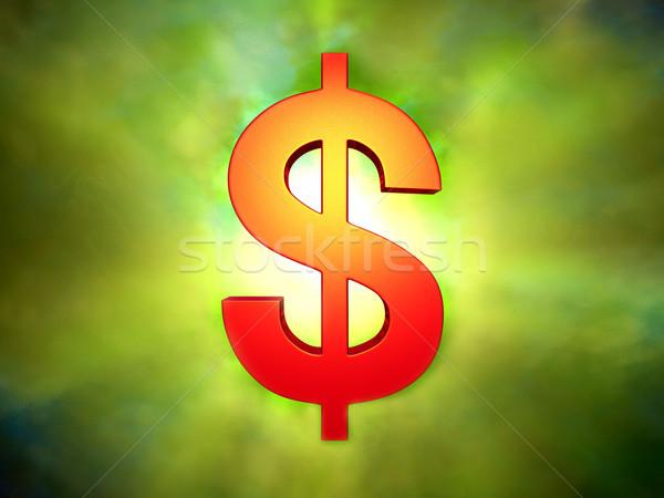 знак доллара дизайна фон знак корпоративного Сток-фото © DTKUTOO