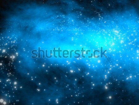 Galaksi daire biçim uzay güneş Stok fotoğraf © DTKUTOO
