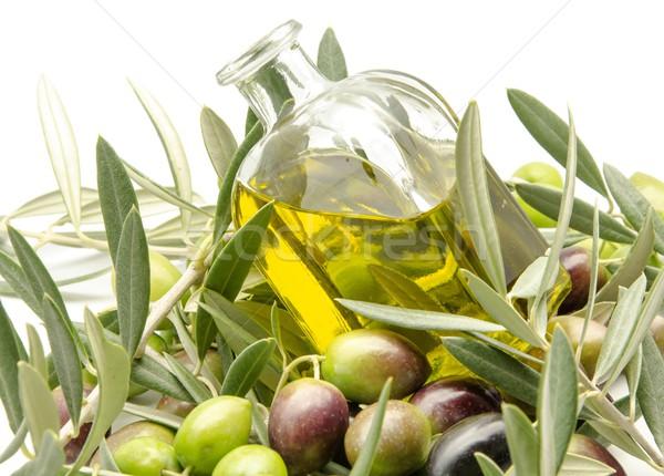 Extra virgen aceite de oliva árbol naturaleza Foto stock © dulsita