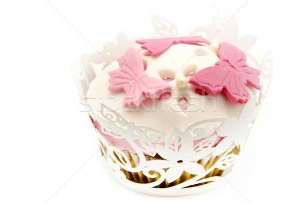 Dekore edilmiş şeker çiçekler çiçek düğün Stok fotoğraf © dulsita
