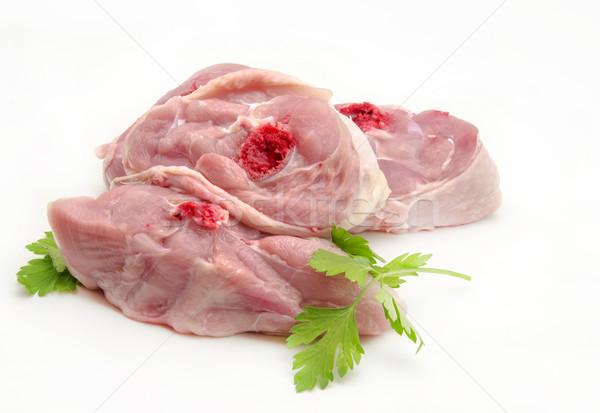 Taze tavuk gıda mutfak akşam yemeği Stok fotoğraf © dulsita