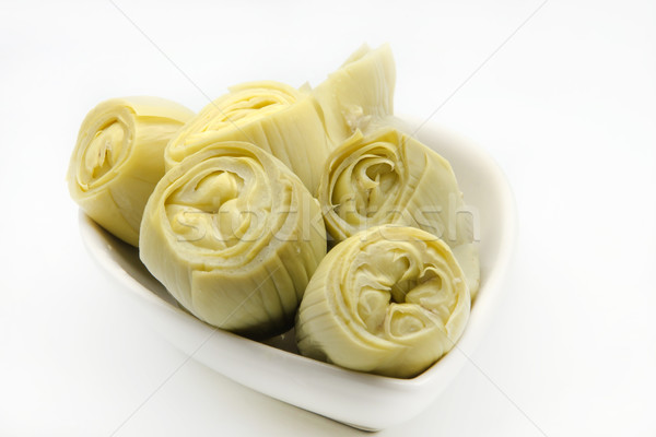 Fresh artichokes Stock photo © dulsita