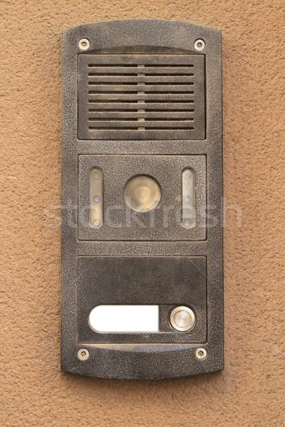 Appartement grijs metaal opknoping beige beton Stockfoto © duoduo