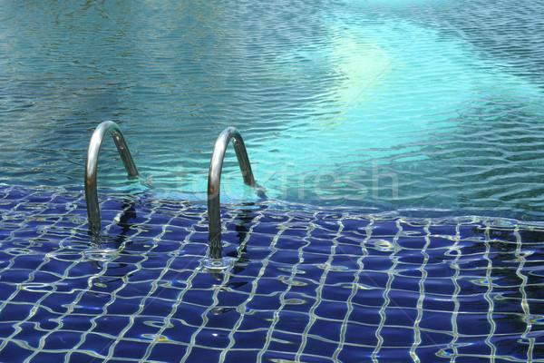 Empty outdoor swimming pool  Stock photo © duoduo