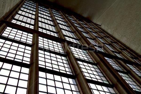 Licht kerk venster muur glas Stockfoto © duoduo