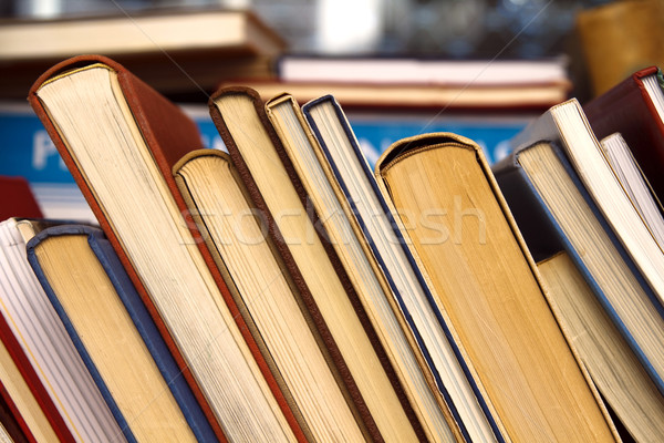 Old books for sale Stock photo © duoduo