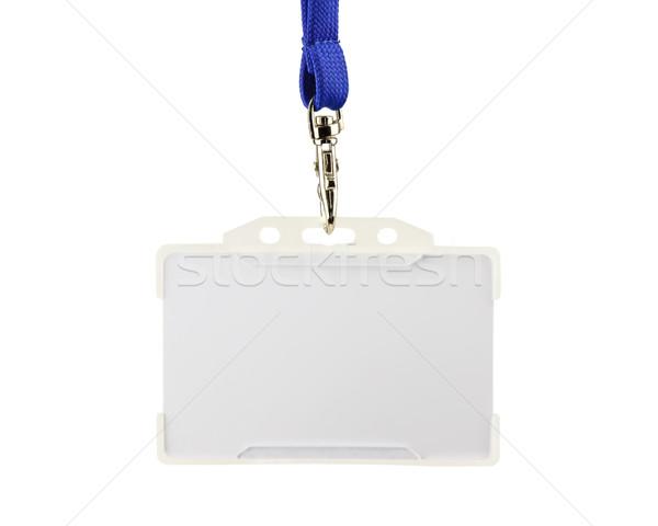White access card on white Stock photo © dutourdumonde
