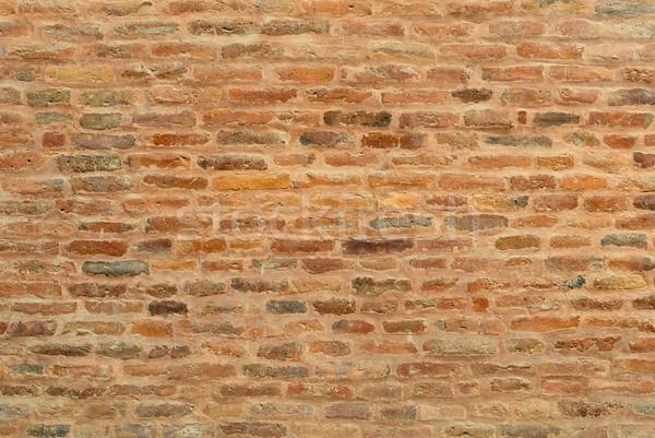 Tuğla duvar doku Bina inşaat dizayn ev Stok fotoğraf © dutourdumonde