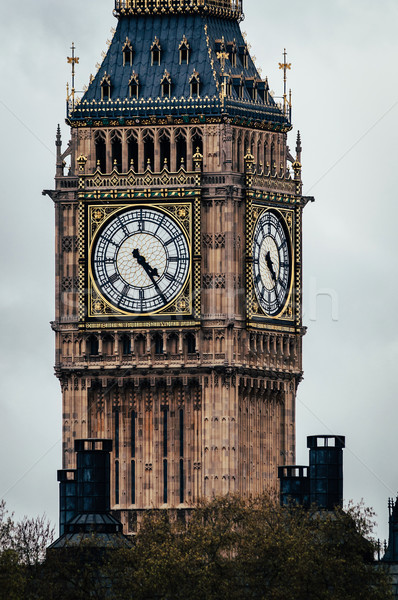 The Clock Tower in London, England, UK.  Stock photo © dutourdumonde