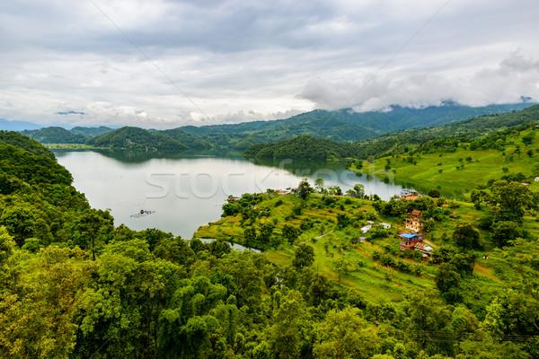 Begnas Lake in Nepal Stock photo © dutourdumonde