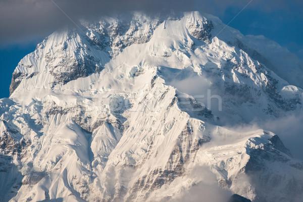The Annapurna South in Nepal Stock photo © dutourdumonde