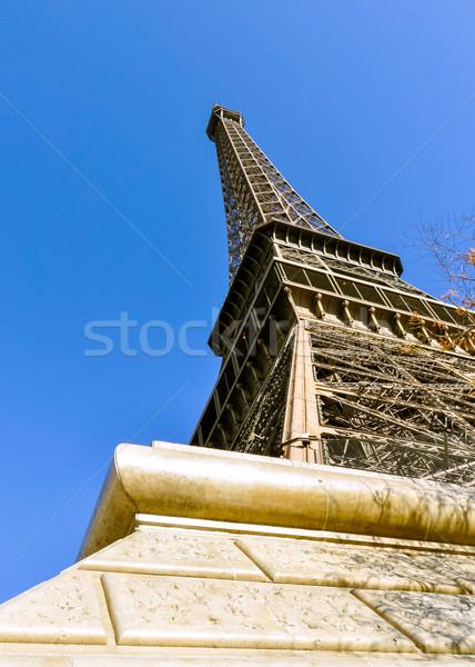 Эйфелева башня Париж Франция здании город строительство Сток-фото © dutourdumonde