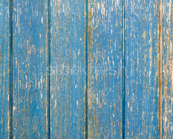Blue wooden wall texture Stock photo © dutourdumonde