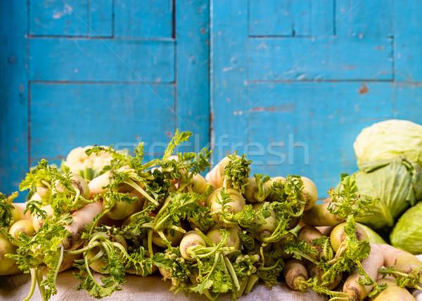 Daikon or white radish Stock photo © dutourdumonde