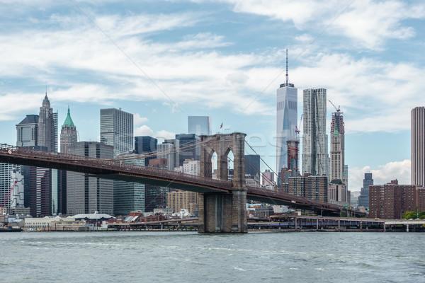 моста Нью-Йорк США городского архитектура Панорама Сток-фото © dutourdumonde