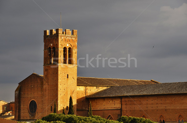 Church in Siena, Italy Stock photo © dutourdumonde