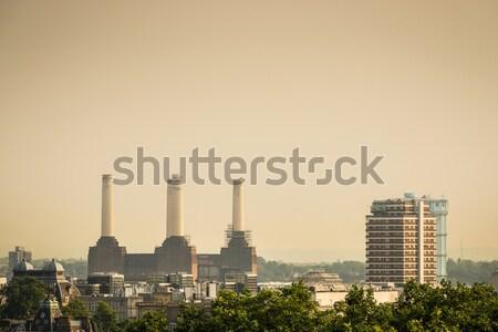 Centrale électrique Londres Angleterre ciel bâtiment ville Photo stock © dutourdumonde