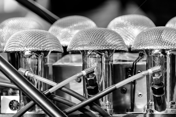 詳細 ヴィンテージ エンジン 車 速度 ストックフォト © dutourdumonde