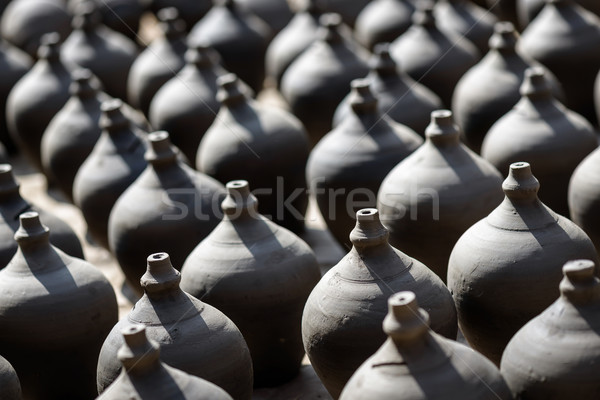 陶器 太陽 貯金 貿易 セラミック ネパール ストックフォト © dutourdumonde