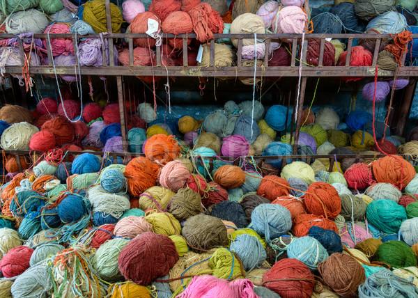 Colorido fábrica Nepal textura Foto stock © dutourdumonde