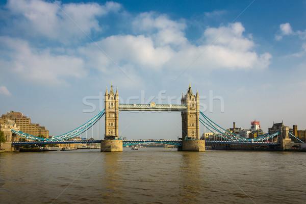 Tower Bridge Londra Inghilterra cielo acqua città Foto d'archivio © dutourdumonde