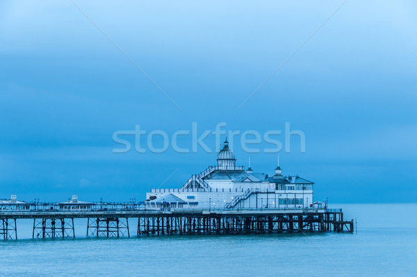 Eastbourne pier in UK Stock photo © dutourdumonde