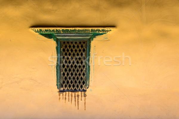окна Непал здании стены фон Сток-фото © dutourdumonde
