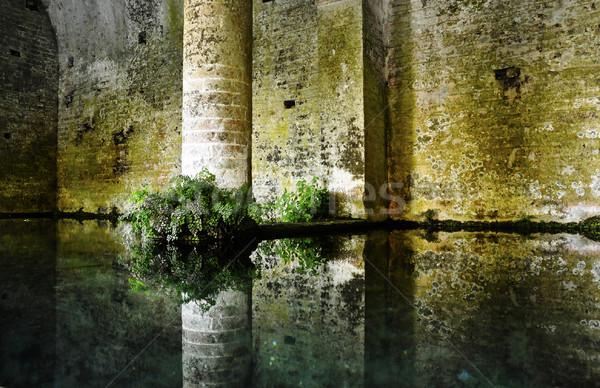 San Gimignano medieval fountain Stock photo © dutourdumonde