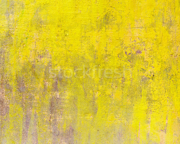 Jaune ciment mur texture construction peinture Photo stock © dutourdumonde
