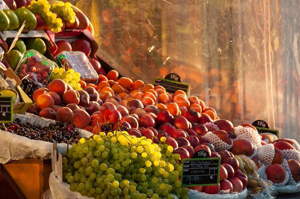 Fruit stall Stock photo © dutourdumonde