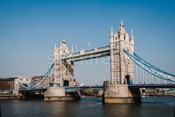 Tower Bridge Londres rio inglaterra céu Foto stock © dutourdumonde