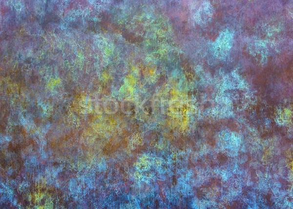 Resumen colorido textura textura de metal patrón colores Foto stock © dutourdumonde