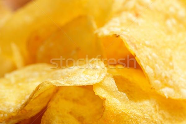 クローズアップ ランチ 黄色 不健康 栄養 ストックフォト © dutourdumonde